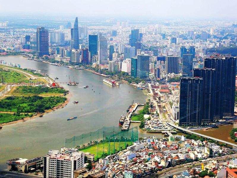 越南房地產胡志明河景
